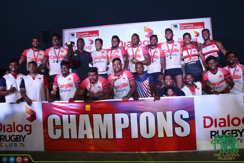 Unbeaten Kandy win Dialog Club Rugby 7's